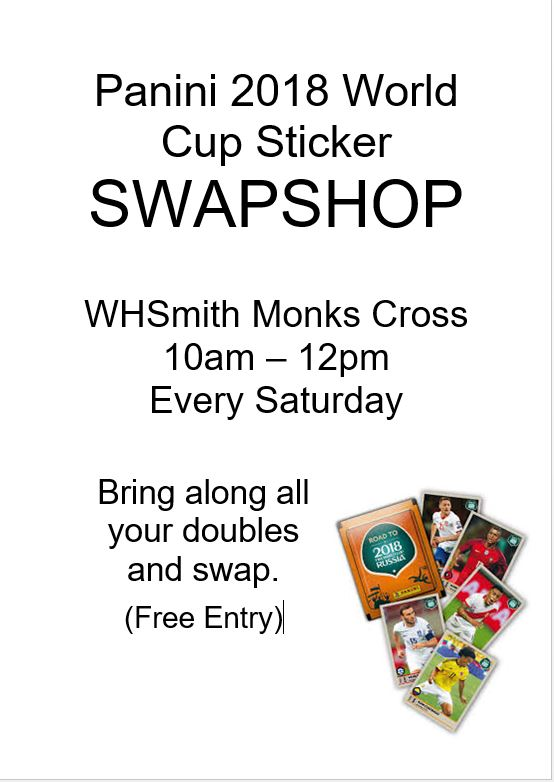 Slime Swap Shop at WHSmith! – Monks Cross Shopping