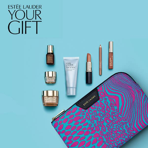 2f0810c0375 Buy 2 or more Estée Lauder products from the Beauty Hall at Debenhams, one  to be skincare or foundation, and you'll get a free gift of beauty  essentials, ...