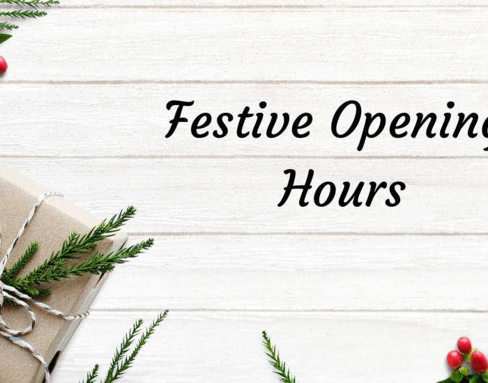 Festive Opening Hours Monks Cross Shopping