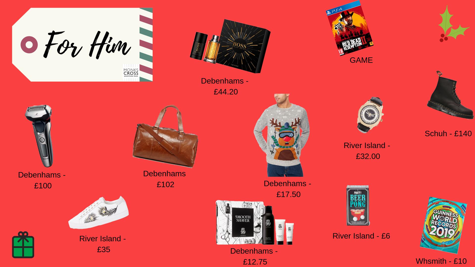 Christmas Gift Guide.Christmas Gift Guide Monks Cross Shopping