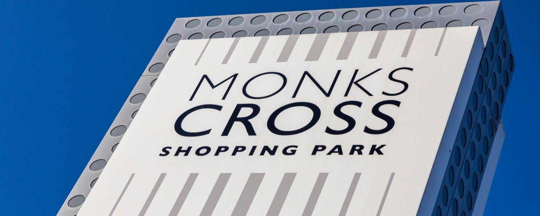 Monks Cross Sign
